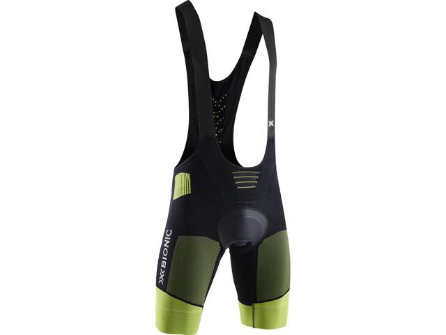 X-Bionic Effektor G2 Gevoerde Bib Shorts Heren, opal black/effektor green
